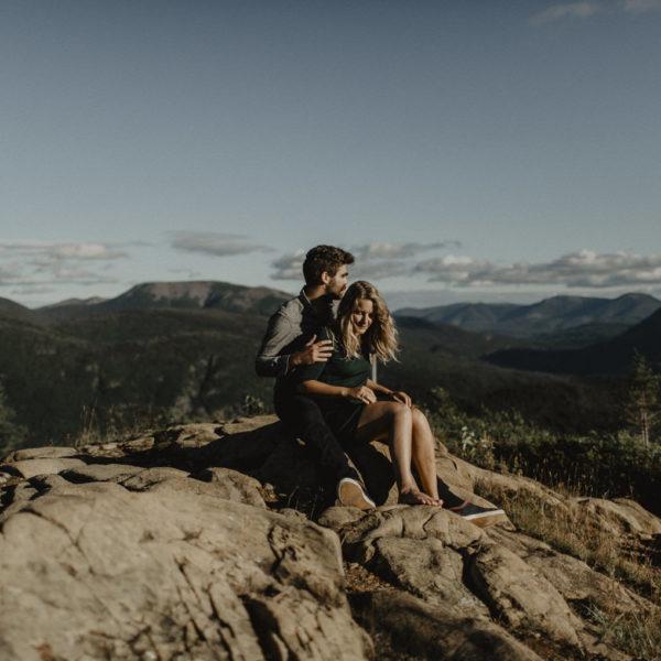 Séance aventure au sommet du Parc de la Gaspésie